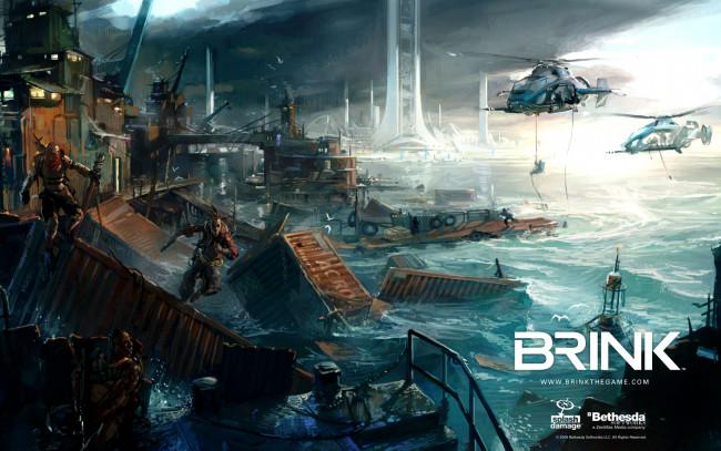 CRACK Brink (PC) 2011. В раздаче содержится ТОЛЬКО кряк. Установка: распа